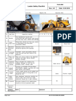 Form-094-Loader Safety Checklist