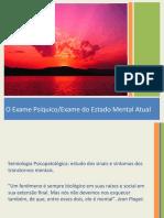 02_Exame Psíquico