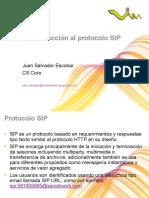 Introduccion al protocolo SIP