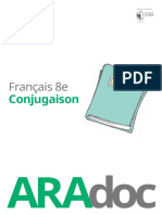 Conjugaison Francais 8e