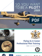 So you want to be a pilot 2009