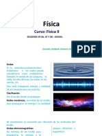 FISICA II -SESIONES 06, 07 Y 08 ONDAS