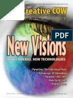 creative cow magazine new vision