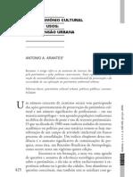 ARANTES, Antonio. O patrimônio cultural e seus usos