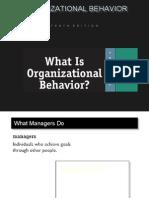 Organiza. Behavior Prince Dudhatra 9724949948