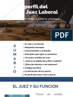 4.- El Perfil Del Nuevo Juez Laboral en México