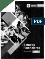 Estadofinanciero Del Ministerio de Educacion