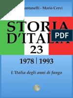 Indro.montanelli Storia.d.italia..Vol.23..L.italia.degli.anni.Di.fango.[1978 1993].(2013)