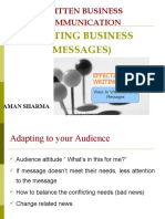 Writng Business Letters-prince Dudhatra-9724949948
