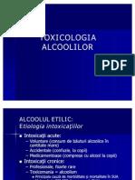 TOXICOLOGIA ALCOOLILOR