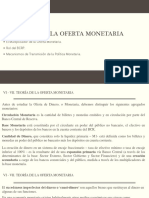Econ Monetaria 06 y 07 Oferta Monetaria