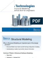 StructuralModelingWithRISA