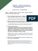 Questionário Eldorado II 2019