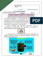 II Ciências Módulo3 Ativ3 Sem11