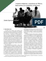 ESPINOSA Damián, Gisela, %22Movimientos de Mujeres Indígenas%22