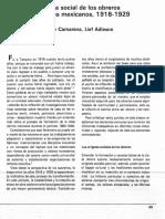 CAMARENA, Mario, %22Historia Social de Los Obreros Industriales%22