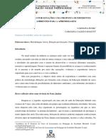 ROTAÇÃO POR ESTAÇÕES UMA PROPOSTA DE DIFERENTES AMBIENTES PARA A APRENDIZAGEM
