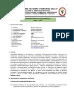 Silabo de Inmunología Veterinaria CV427 24AB 2021-1A