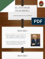 EL INFORME KLIKSBERG