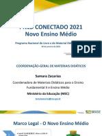 Apresentação PNLD 2021 MEC
