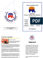 Arizona Republican Party Precinct Committeeman Manual
