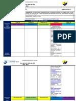 Agenda Proyecto 1 - Semana 9 Abcd