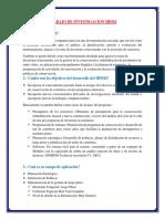 TRABAJO DE INVESTIGACION HDM4