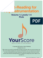 Flute Sight Reading Levels 1-4
