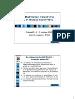 Distribution d Électricité Et Réseaux Souterrains