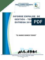 Informe de Empalme 2016-2019 V3
