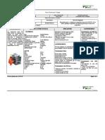 F. T. Compresor isuzo 210 CFM