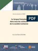 Langue Française en CI