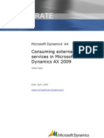 Consuming External Web Services in MSDAX 2009