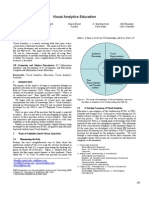 Visual Analytics Education