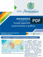 Função logarítmica - características e gráficos