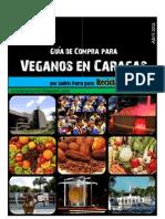 Guía de alimentación Vegan (vegana) para Caracas