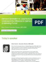 Demand Gen vs Lead Nurturing