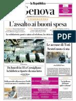 La Repubblica Genova 04 Aprile 2020