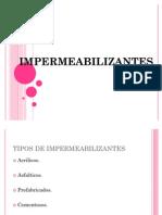 impermeabilizantes