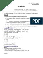 Building database format -optimi