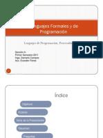 1-Lenguajes de Programacion y Paradigmas del Lenguaje