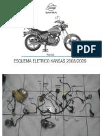 Diagrama elétrico (detalhado)