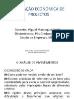 Aula 3 Avaliação_Economica_Projectos