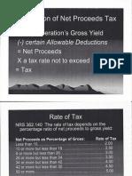 Nevada Mining Tax Report 2011