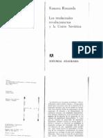 Los Intelectuales Revolucionarios y La Union Sovietica 1974 R. Rossanda
