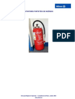 Extintores Portáteis de Incêndio