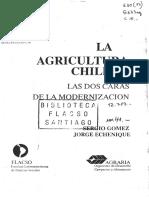 La agricultura chilena las dos caras de la modernización 1988