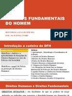 DIREITOS FUNDAMENTAIS DO HOMEM 1