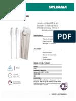 p36667 Hermetica Led 2x18w t8 Dl 120v