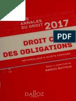 - Annales Droit Civil Des Obligations 2021_ Méthodologie & Sujets Corrigés (Annales Du Droit) (French Edition) (2020, DALLOZ) - Libgen.li
